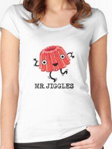 Mr Jiggles - Jello Women's Fitted Scoop T-Shirt