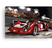 Alfa Tipo 33 Canvas Print