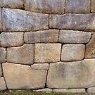 Images Of Peru - Machu Picchu (Inca Stonework 3) by Rebel Kreklow