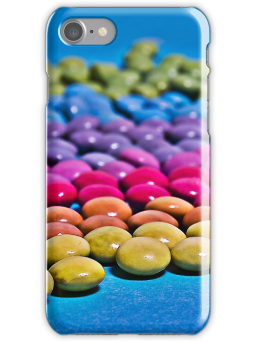 Rainbow Pearls iPhone Case by Denise Abé