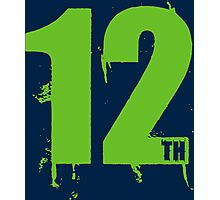 12th man Photographic Print
