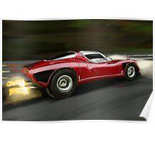 Alfa Romeo Tipo 33 Stradale Poster