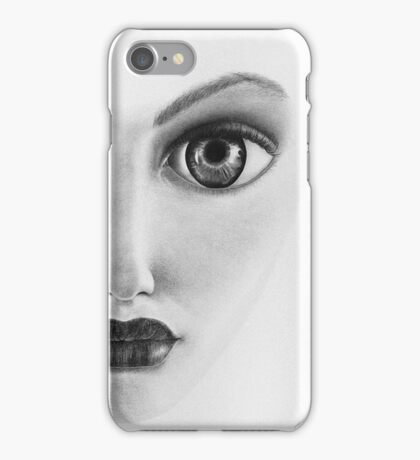 Yes, I'm keeping an eye on you. iPhone Case/Skin