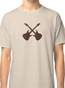 Crossed Guitars Classic T-Shirt