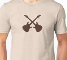 Crossed Guitars Unisex T-Shirt