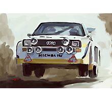 Audi S4 Sport Quattro Photographic Print