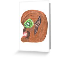 THE WEREWOLF Greeting Card
