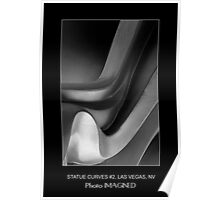 STATUE CURVES #2, MGM GRAND, LAS VEGAS NV. Poster