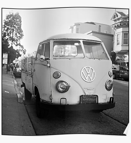 VW Microbus Poster