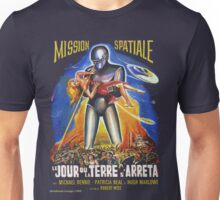 Grindhouse Lounge presents:The Day the Earth Stood Still(French promo) Unisex T-Shirt