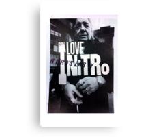 ILoveNitro Canvas Print