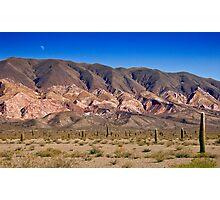 Painted Peaks, Los Cardones National Park, Argentina Photographic Print