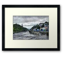 A Bristol scene Framed Print