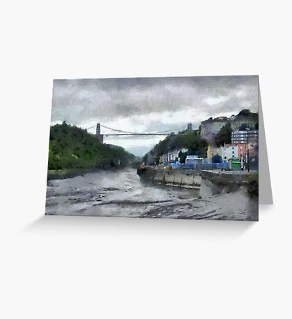 A Bristol scene Greeting Card