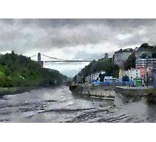 A Bristol scene Photographic Print