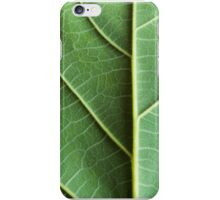 Leaf Closeup iPhone Case/Skin