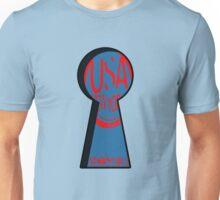 keyhole usa new york logo by rogers bros T-Shirt