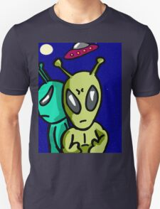 Aliens invaders  Unisex T-Shirt