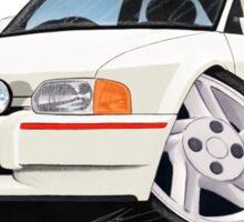 Ford Escort XR3i White Sticker