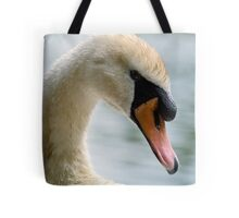 Portrait of an adult Mute Swan Tote Bag