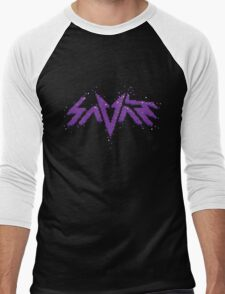 Savant logo - Pixels Men's Baseball ¾ T-Shirt