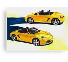 Porsche Boxter MK 2 Canvas Print