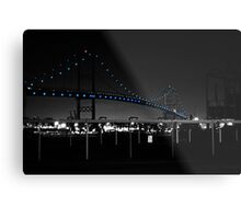 Vincent Thomas Bridge Metal Print