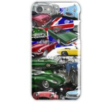 British Sports Cars iPhone Case/Skin