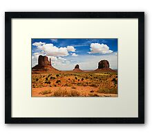 Monument Valley  Framed Print