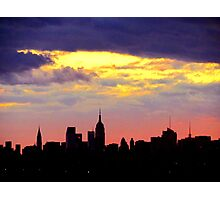 New York City shadow Photographic Print