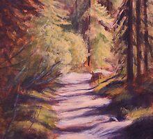 Forest Light by Michael Beckett