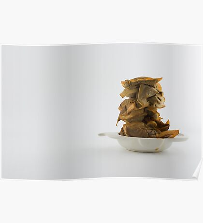 Used tea bags Poster