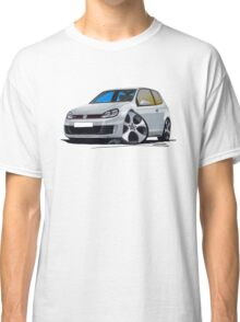 VW Golf (Mk6) GTi Silver Classic T-Shirt