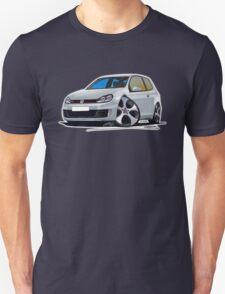 VW Golf (Mk6) GTi Silver Unisex T-Shirt