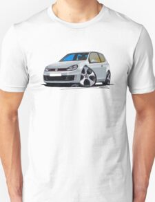 VW Golf (Mk6) GTi Silver T-Shirt