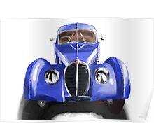 Bugatti Atlantic Poster