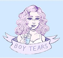 boy tears Photographic Print