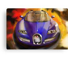 Bugatti Veron Vitesse Canvas Print