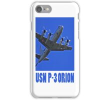usn p3 orion iphone iPhone Case/Skin