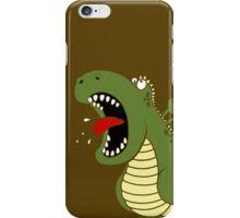 Dino Roar - Brown iPhone Case/Skin