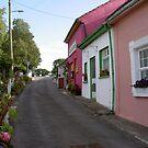 The Laneway,to carpark at Cashel,Co.Tipperary,Ireland. by Pat Duggan