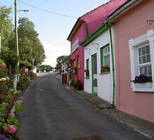 The Laneway,to carpark at Cashel,Co.Tipperary,Ireland. by Pat Duggan