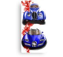 Bugatti Veron and Atlantic Canvas Print