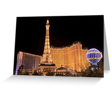 One Night In Sin City - 2 © Greeting Card
