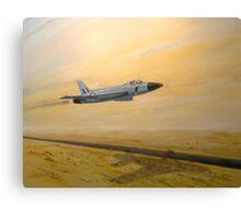 Desert streak Canvas Print