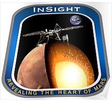 InSight Mission Operations Logo Poster