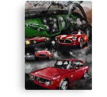Historic Car Art Canvas Print