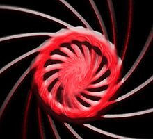 Red Swirl by GPMPhotography