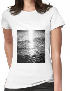 lake michigan Womens Fitted T-Shirt