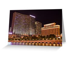 One Night In Sin City - 3 © Greeting Card